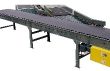 Conveyor Accessory facilitates carton transition to belt.