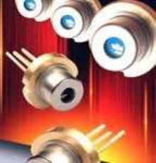 Laser Diodes offer 40 mW power in 5.6 mm package.