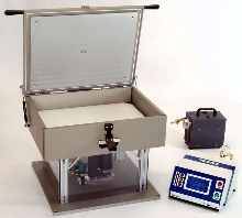 Non-Destructive Leak Detector works on pouches and bags.