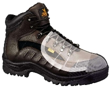 Protective Boots feature metatarsal guard.