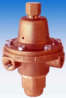 Pressure Regulator reduces high inlet pressures.