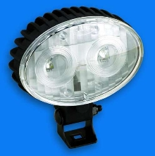 LED Work Lamp mounts to lift trucks.