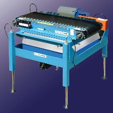 Heavy-Duty Checkweigher is hydraulically adjustable.