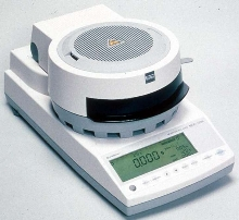 Electronic Moisture Balance features Unibloc technology.