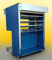 Racking Systems offer security option to protect inventory.