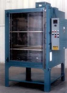 Electric Universal Oven suits paint baking operations.