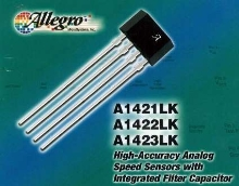 Gear-Tooth Sensors include integrated filter capacitor.