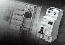 RCBO Switch protects against excessive load currents.