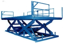 Control System accurately positions work tables/platforms.
