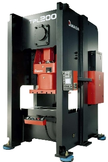 Link Motion Presses have S-frame design for rigidity.