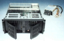 Rack-Mount Chassis provides 3 hot-swap power options.