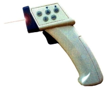 Infrared Thermometer reveals out-of-reach hotspots.