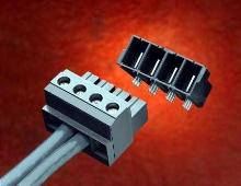Pluggable Terminal Blocks provide 85 A/circuit at 600 V.