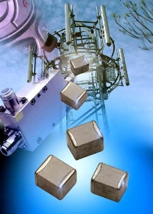 RF Capacitors suit applications from 1 MHz to 10 GHz.