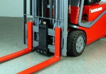 Pallet Guard helps eliminate damage from lift trucks.