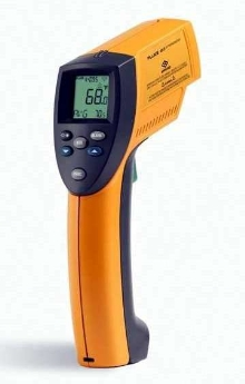 Infrared Thermometer is FM-approved as intrinsically safe.