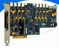 DAQ Boards deliver simultaneous sampling rates to 3 MS/s.