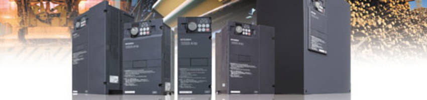 Variable Frequency Drive features built-in PLC.