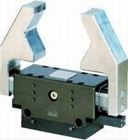 Sealed Parallel Gripper features stable 4-sided guides.