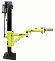 Electric Column Lift Manipulator has 500 lb load capacity.