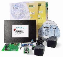 Kit adds color touchscreen to embedded systems.