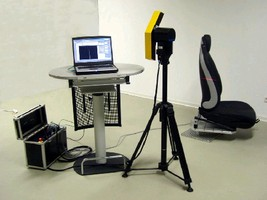 Laser Scanning System provides reverse engineering.