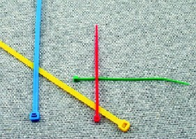 Cable Ties color code wire bundles.