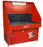 Downdraft Tables feature 99.99% efficient cartridge filters.