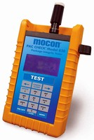 Portable Analyzer measures leak rate in packages.
