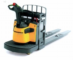 End Rider Pallet Trucks facilitate low level order picking.