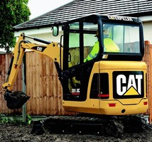 Mini Hydraulic Excavators provide operator comfort.