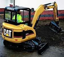 Mini Hydraulic Excavator employs 18.6 hp engine.