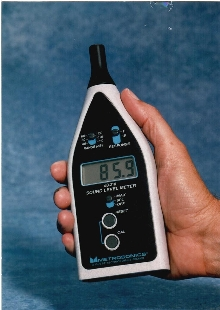 Sound Level Meter is for industrial applications.