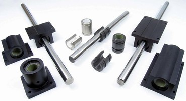 Plane Bearings are suited for food and pharma processing.