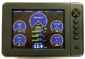 Graphical LCD Display offers real-time data.