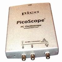 PC Oscilloscope Adapter offers 12-bit resolution.