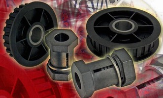 Rotating Component Fastener features 2-piece construction.