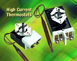 Bulb and Capillary Thermostats offer 30 A capacity.