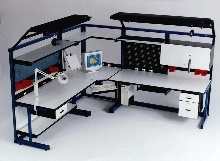 Cell Workstations create a continuous work area.