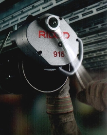 Manual Roll Groover is constructed of ductile iron.