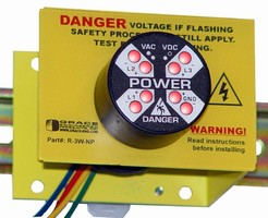 Voltage Monitor alerts users to dangerous panel conditions.
