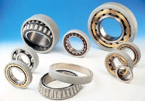 Rolling Bearings offer electrically insulated design.