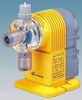 Electronic Metering Pump has automatic air release valve.