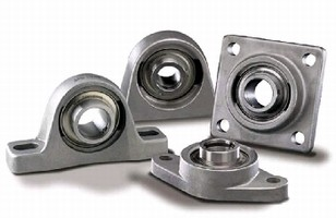 Mounted Bearings offer protection during washdowns.