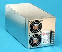 Switching Power Supplies feature 3,000 Vac I/O isolation.