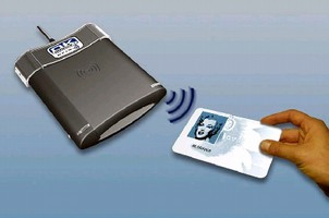 Smart Card Reader combines contact/contactless technology.