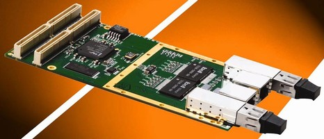 PMC Card facilitates addition of GigE networking.