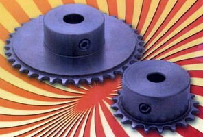 Miniature Chain Sprockets have corrosion-resistant design.