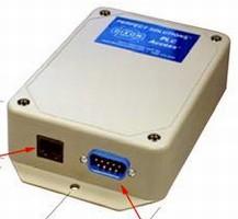 PLC-Compatible Modem enables remote servicing.