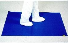 Sticky Mat keeps feet clean.